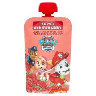 PAW Patrol Super Strawberry Organic Blended Fruit Snack - 3.5oz