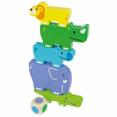 Beleduc Friendly Animal Stackers - 11 Pc