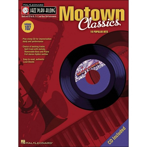 Hal Leonard Motown Classics - Jazz Play-Along Volume 107 (CD/Pkg) - image 1 of 1