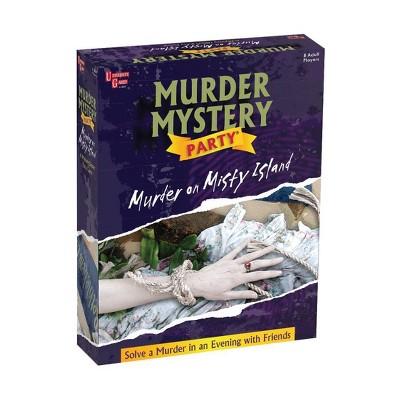 Murder Mystery Party - Murder on Misty Island Game
