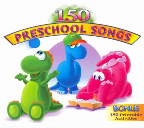 Various - 150 Preschool Songs (CD) - image 1 of 1
