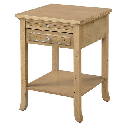 American Heritage Logan End Table with Drawer and Slide - Johar Furniture - image 1 of 3