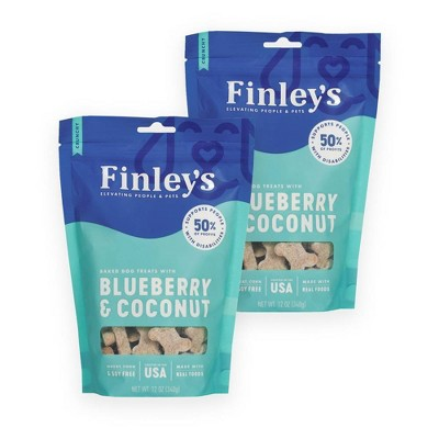 Finley's Blueberry and Coconut Dog Treats
