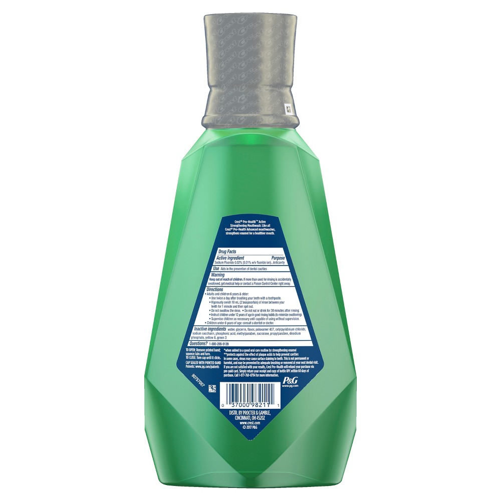Mouthwash: Crest Pro-Health Advanced Active Strengthening