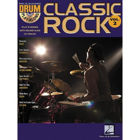Hal Leonard Classic Rock Drum Play-Along Series Volume 2 Book with Online Audio - image 1 of 1