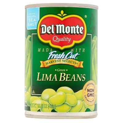 Del Monte Lima Beans  - 15.25oz