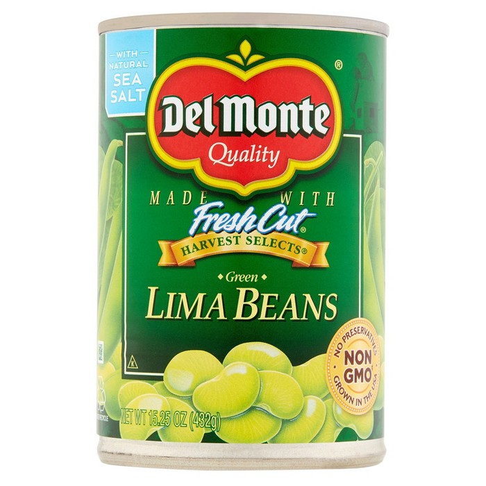 Del Monte Canned Lima Beans 15.25 oz - image 1 of 1