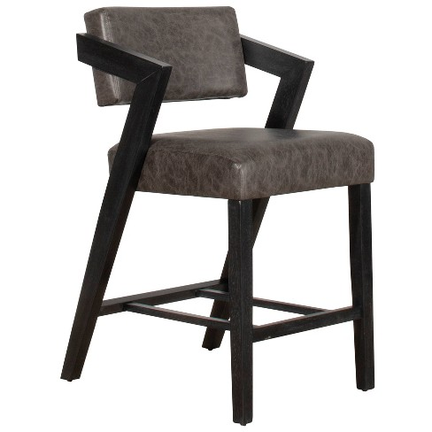 Snyder Counter Height Stool Black/Gray - Hillsdale Furniture - image 1 of 3