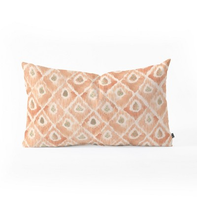Dash And Ash Catch Me Lumbar Throw Pillow Orange - Deny Designs