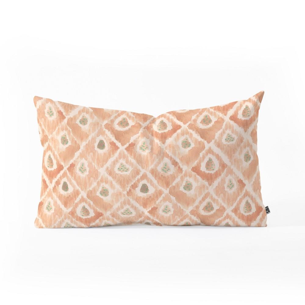 Dash And Ash Catch Me Lumbar Throw Pillow Orange - Deny Designs Coupons