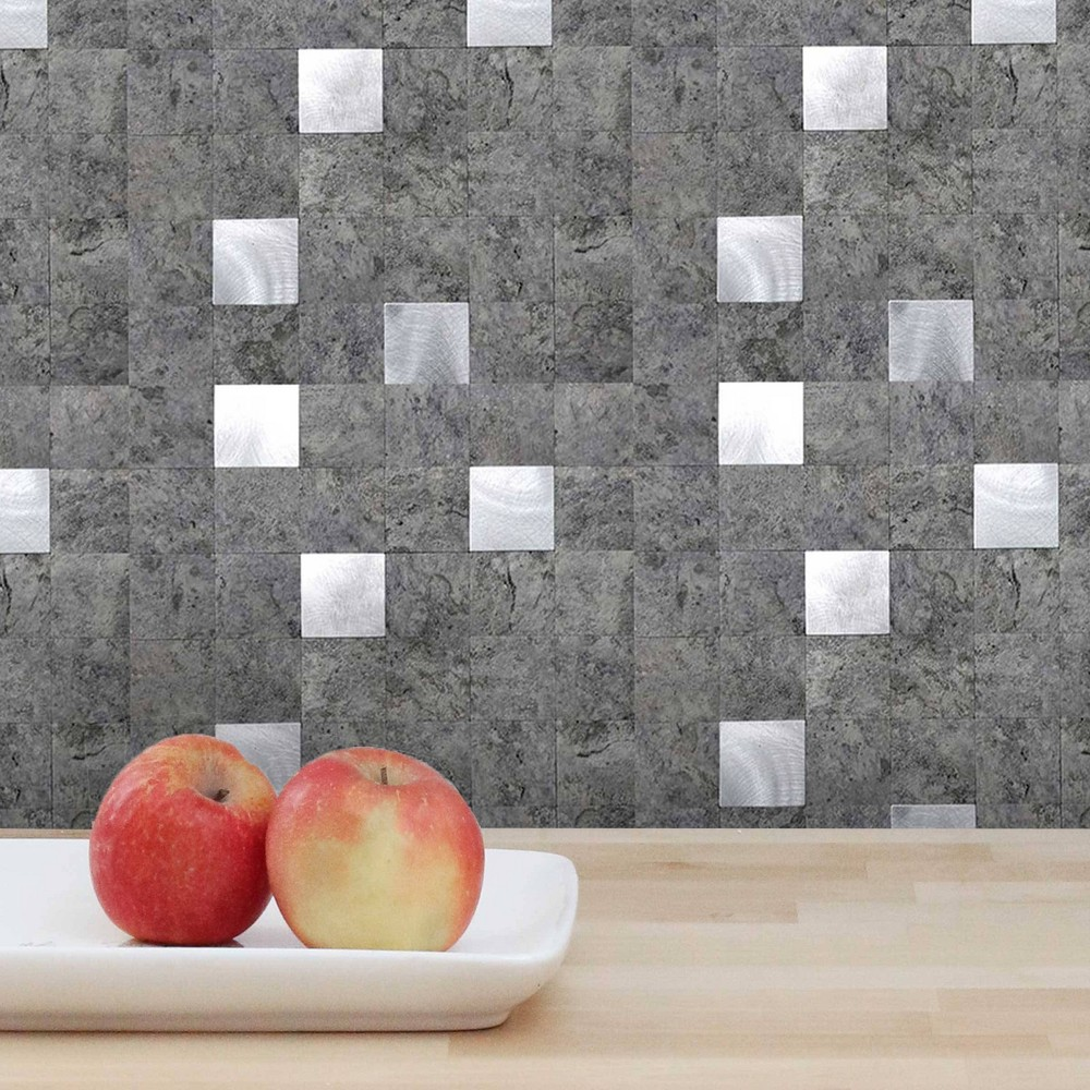 Dip Design Is Personal 10pk Mosaic Tiles 12 39 39 X 12 39 39 Backsplash Cement