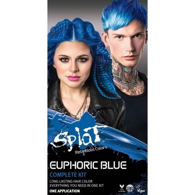 Splat Hair Color Kit - 10.28 fl oz - Euphoric Blue