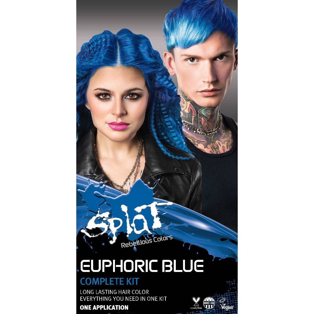 Image of Splat Hair Color Kit - Euphoric Blue