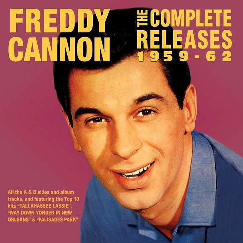 Freddy Cannon - Complete Releases:59-62 Freddy Cannon (CD) - image 1 of 1
