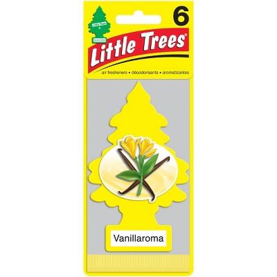 Little Trees Vanillaroma Air Freshener 6pk