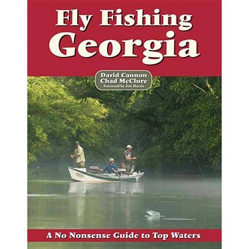 Fly Fishing Georgia - (No Nonsense Fly Fishing Guidebooks) by  David Cannon (Paperback) - image 1 of 1