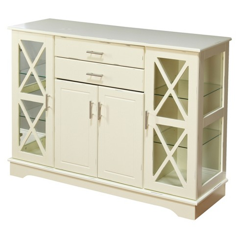Kendall Buffet Wood/Antique White - TMS - image 1 of 3