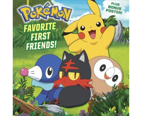 Favorite First Friends! -  (Pokemon) by C. J. Nestor (Paperback) - image 1 of 1