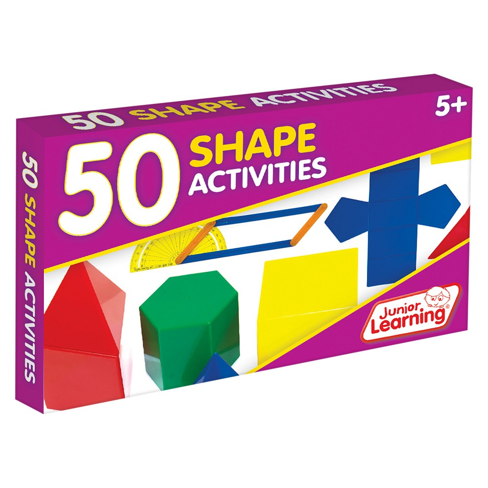 Image of Junior Learning 50 Shape Activities Learning Set