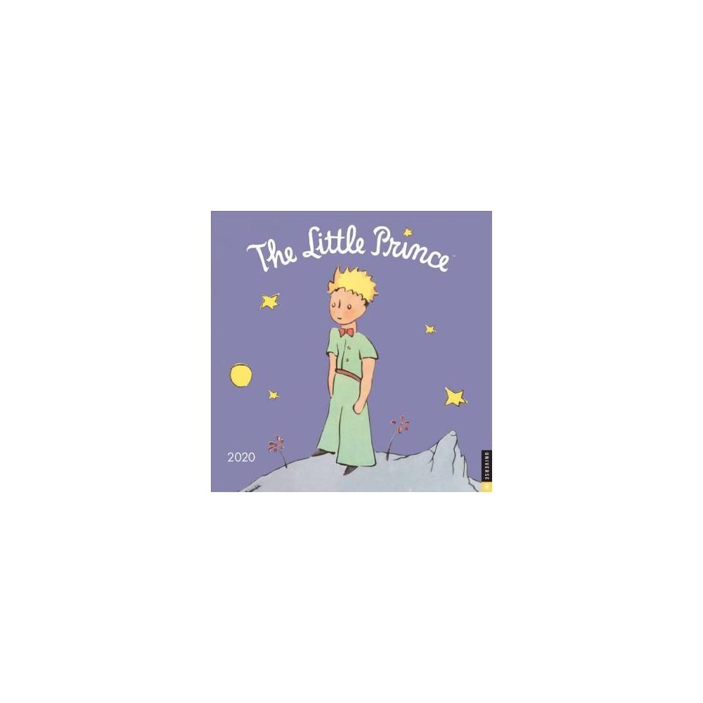 Little Prince 2020 Calendar - by Antoine de Saint-Exupery (Paperback)