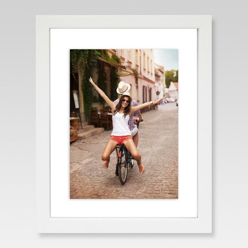 Single Image Frame With Matte 6x8 White Project 62 Target