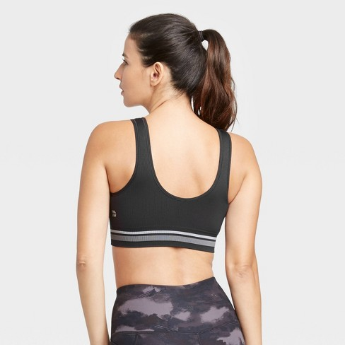 Women's Low Support Scoop Neck Seamless Bra - All in Motion™ - image 1 of 4