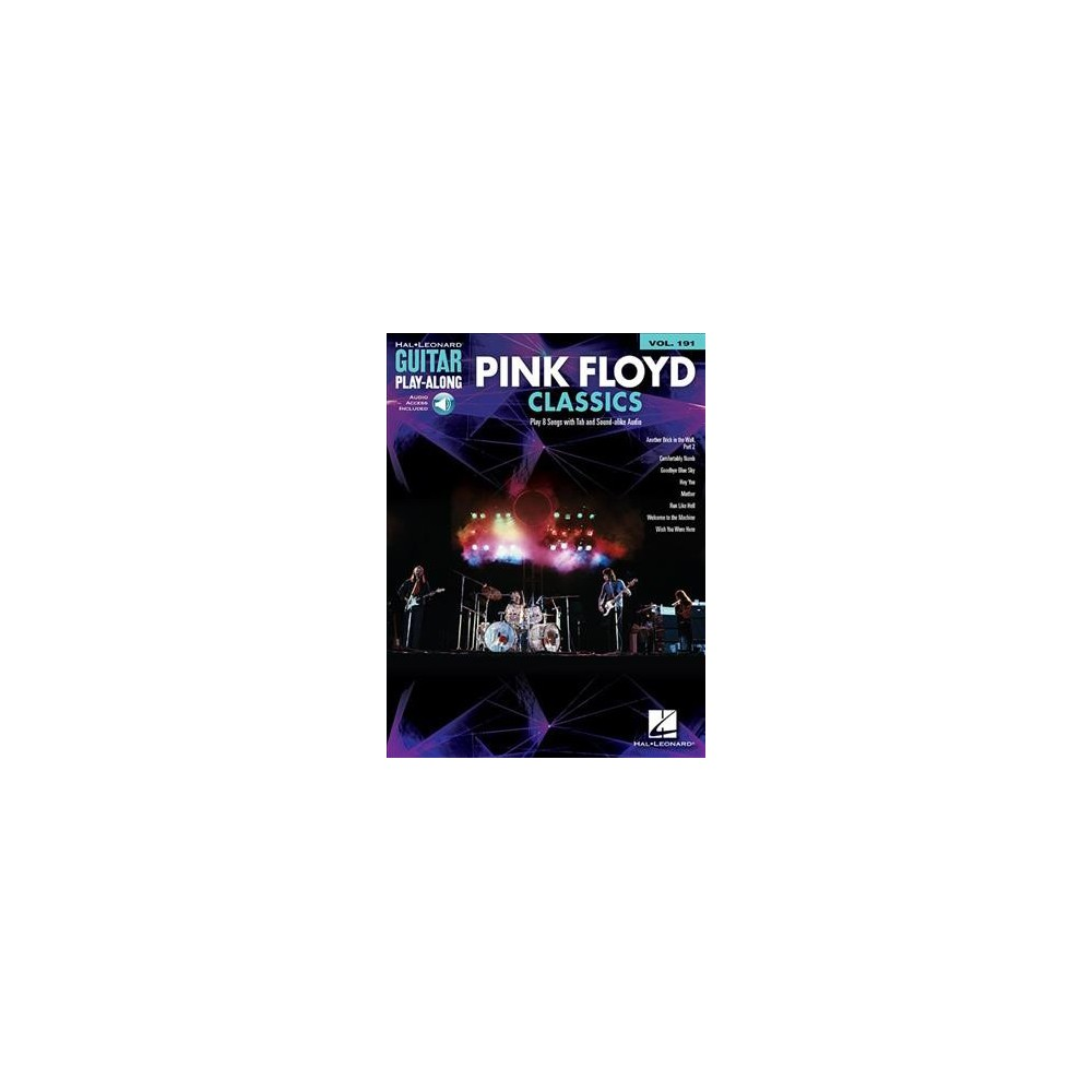 Pink Floyd Classics : Includes Downloadable Audio - (Guitar Play-Along) (Paperback)