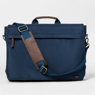 Strap Messenger Bag - Goodfellow & Co™ Navy