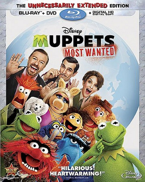 Muppets Most Wanted (2 Discs) (Blu-ray/DVD) - image 1 of 1