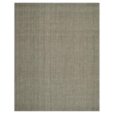 Gray Solid Woven Area Rug 5'x8' - Safavieh