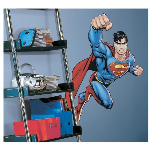 RoomMates Superman-Day Of Doom Peel & Stick Giant Wall Decal - image 1 of 2