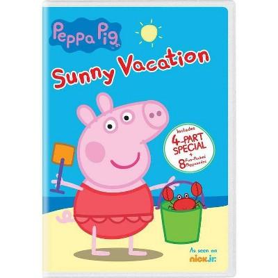 Peppa Pig: Sunny Vacation (DVD)