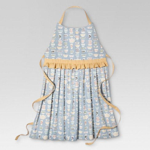 Teacup Ruffle Cooking Apron - Threshold™ - image 1 of 1