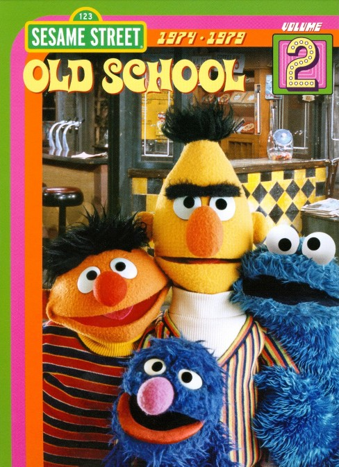 Sesame Street: Old School, Vol. 2 (dvd_video) - image 1 of 1