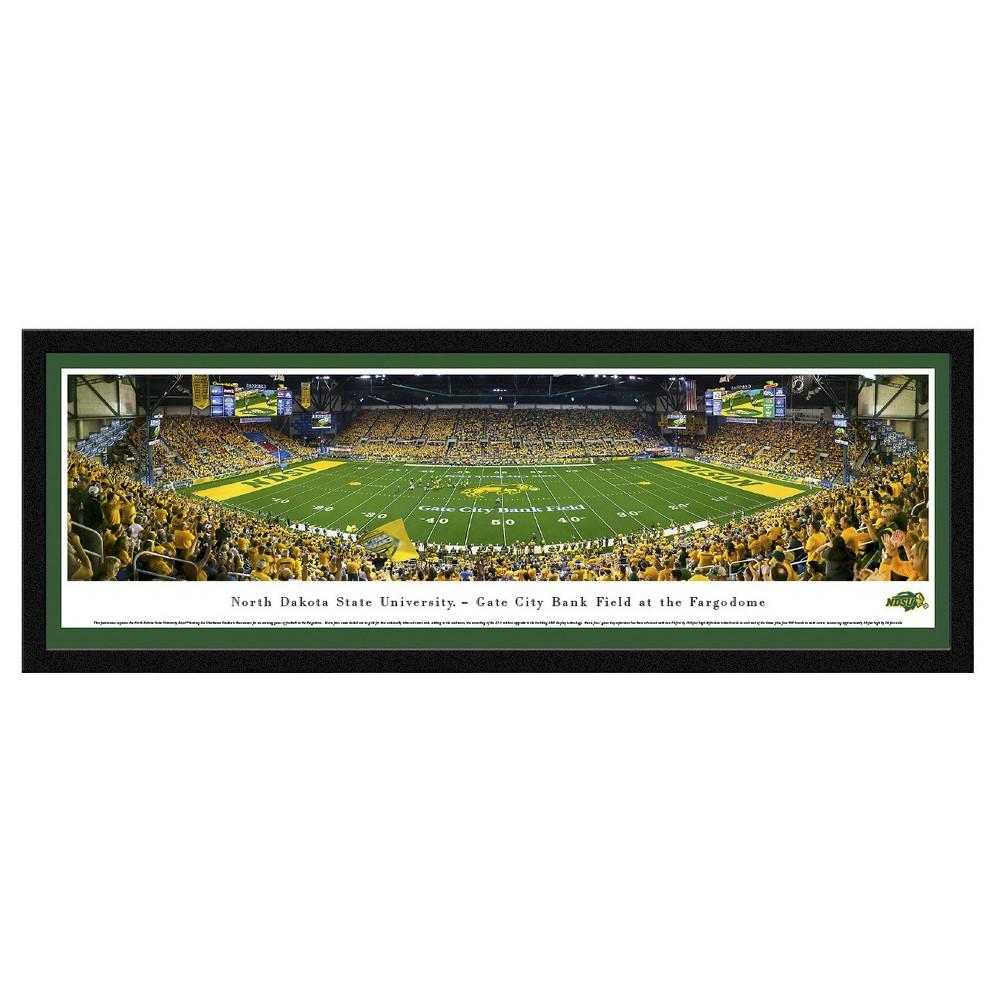 Framed Wall Poster Print NCAA .88 X 42 X 15.5 North Dakota State Bison