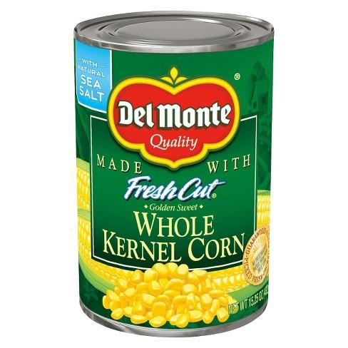 Del Monte Fresh Cut Whole Kernel Corn - 15.25oz - image 1 of 1