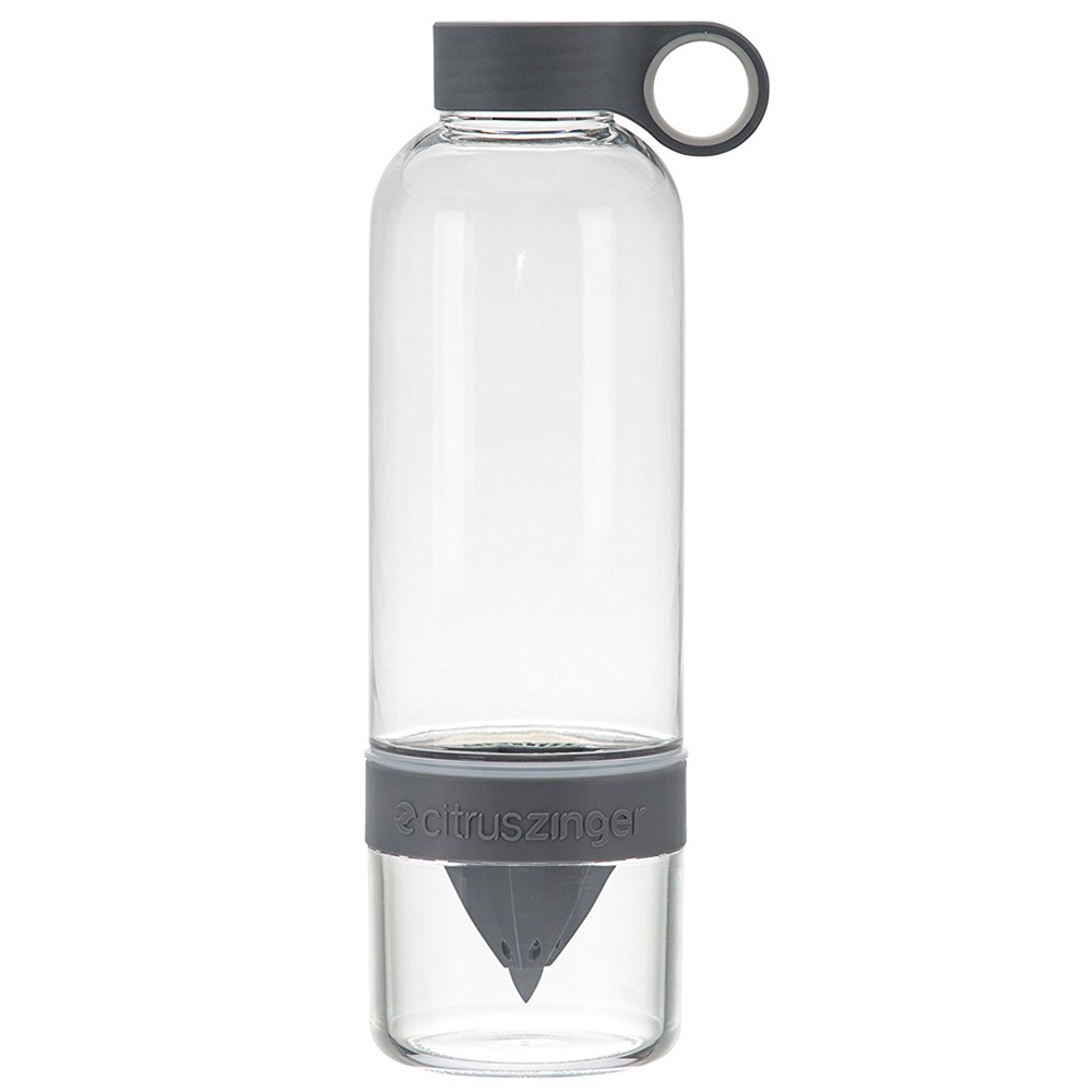 Image of Zing Anything 28oz Citrus Zinger Original Water Bottle Gray
