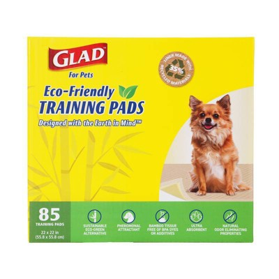 Glad Earth Friendly Bamboo Dog Training Pads - 85ct