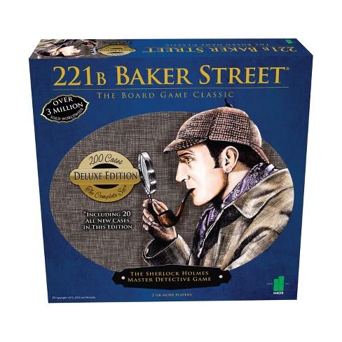 John N. Hansen Co. 221B Baker Street Sherlock The Master Detective Game - Deluxe Edition - image 1 of 3