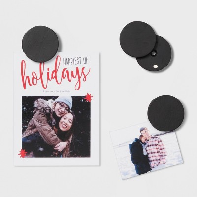 4  x 6  Mounting Circles Single Picture Frame Black - Project 62™