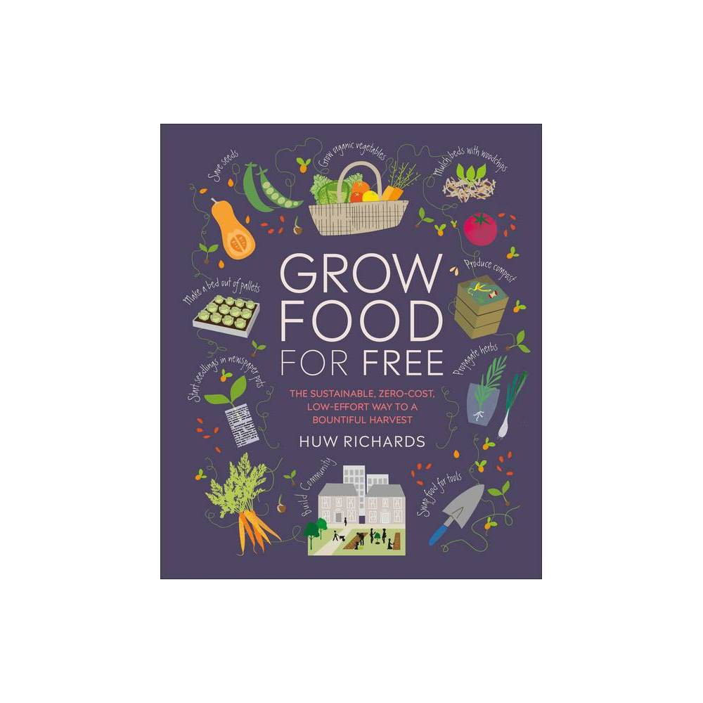 Grow Food For Free By Huw Richards Paperback