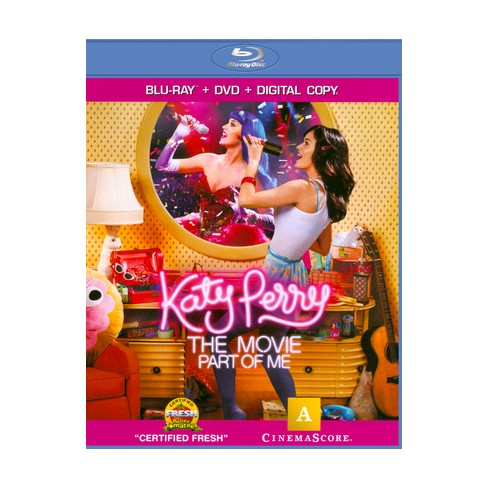 Katy Perry: Part of Me (2 Discs) (Blu-ray/DVD) (W) (Widescreen) - image 1 of 1