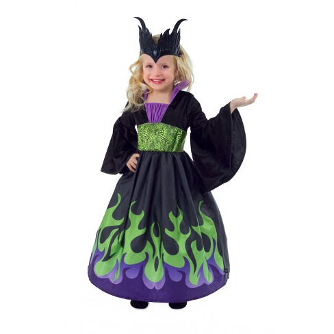 Little Adventures Child's Dragon Queen Dress with Soft Crown - image 1 of 3