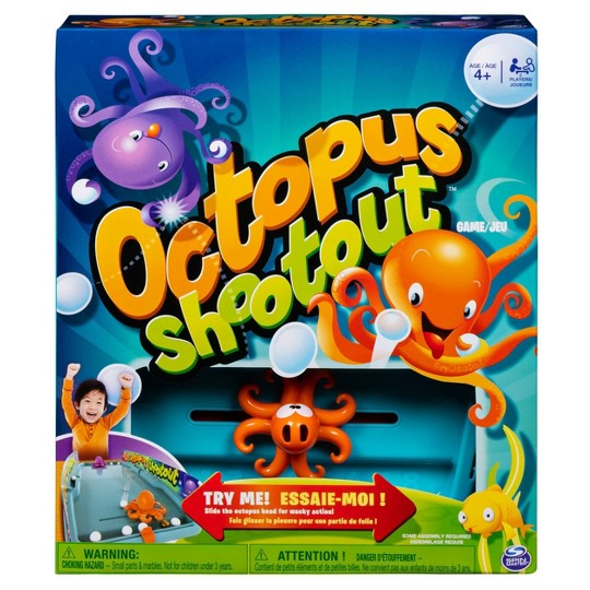 Octopus Shootout Game, Board Games image number null