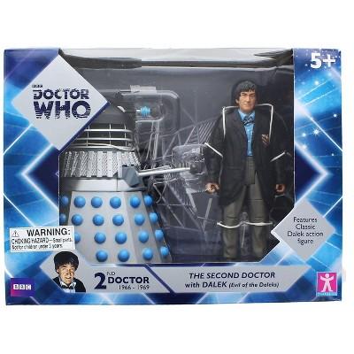 Seven20 Doctor Who 2nd Doctor w/ Dalek 6 Inch Figure Set  - Evil of the Daleks