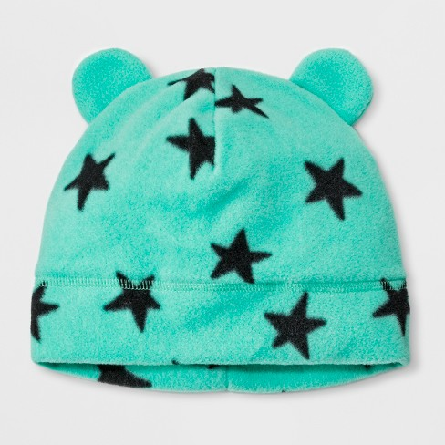 668bc82b062 Girls  Star Fleece Beanie - Cat   Jack™ Turquoise   Target