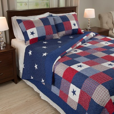 Caroline Plaid Quilt Set - Yorkshire Home