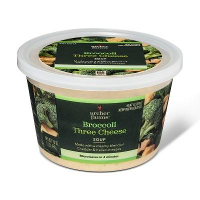 Broccoli Three Cheese Soup 16oz - Archer Farms™