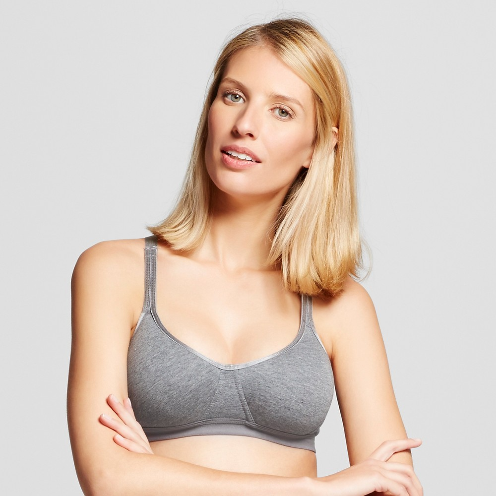 Ariette Petite Lingerie by The Little Bra Company Women's Sports Bra, Size: 30A, Charcoal Heather