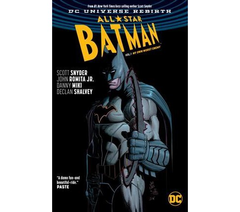 All-Star Batman 1 : My Own Worst Enemy: Rebirth (Paperback) (Scott Snyder) - image 1 of 1